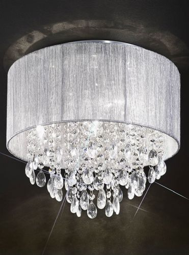 Franklite FL2281/4 Chrome Ceiling Light